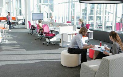 Cómo el diseño de una oficina afecta al bienestar de los empleados